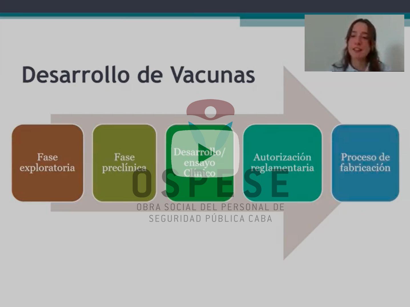 Charla desarrollo de las vacunas